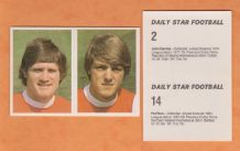 Arsenal Pat Rice & John Devine 2& 14